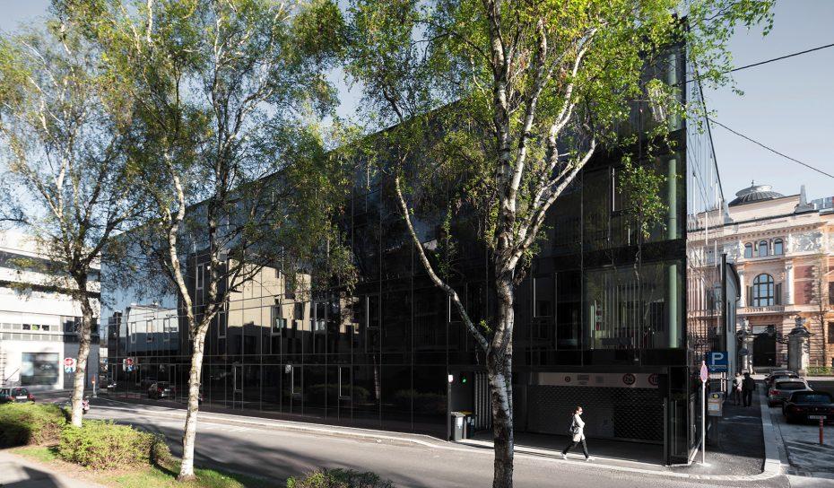 Einfahrt Oberlandesgericht Museumsstrasse
