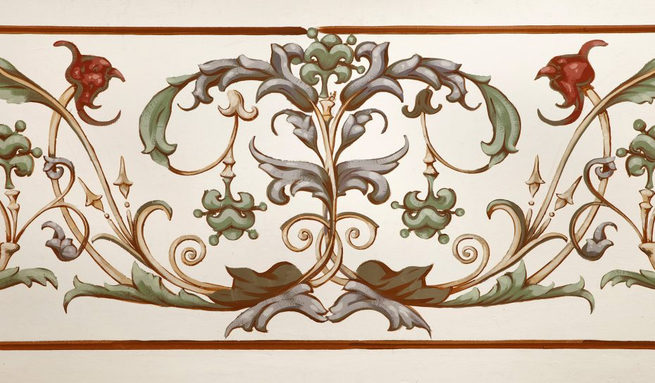 Palais Löwenfeld - Wandmalerei